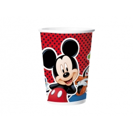 COPO PAPEL 180ml MICKEY CLASSICO C/8