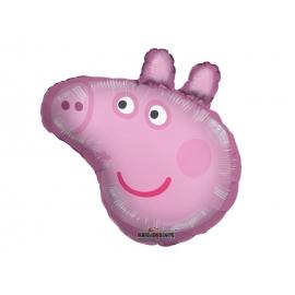 BALAO MET SUPERSHAPE PEPPA PIG C/01