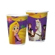 COPO PAPEL 180ML RAPUNZEL C/8
