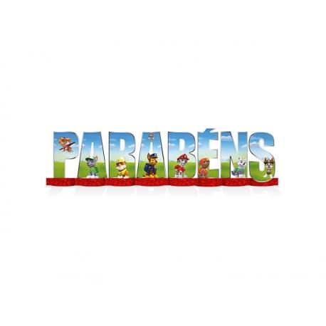 DEC MESA PARABENS PATRULHA CANINA C/1