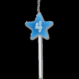 VELA STAR CITRUS AZUL N 4 C/1