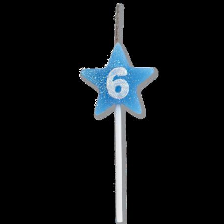 VELA STAR CITRUS AZUL N 6 C/1
