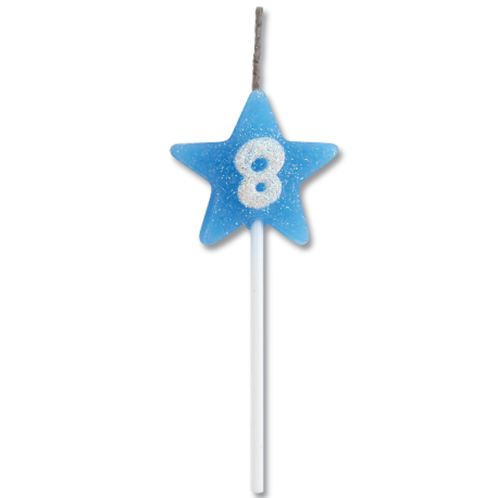 VELA STAR CITRUS AZUL N 8 C/1