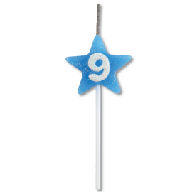 VELA STAR CITRUS AZUL N 9 C/1