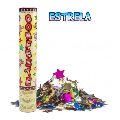 CONFESTE PREMIUM 30CM ESTRELAS C/1