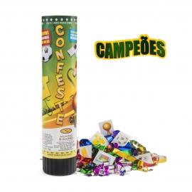 CONFESTE KIDS 21CM ADESIVOS CAMPEOES C/1