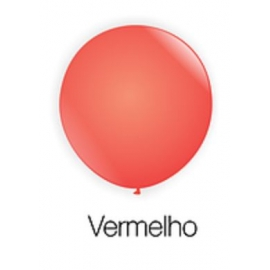 BALAO 8 BUFFET C/ 50 VERMELHO