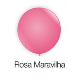 BALAO 8 BUFFET C/ 50 ROSA MARAVILHA