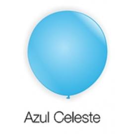 BALAO 8 BUFFET C/ 50 AZUL CELESTE