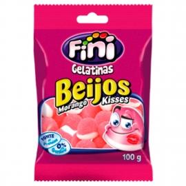 BEIJOS DE MORANGO 100G