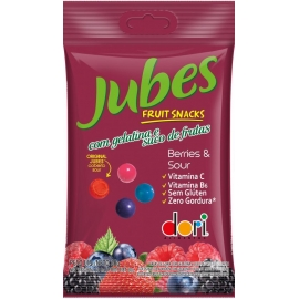 JUBES FRUIT SNACKS BERRY SOUR 60G
