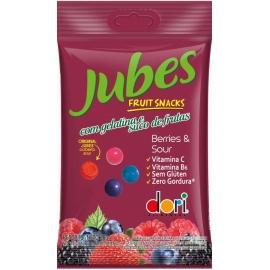 JUBES FRUIT SNACKS BERRY SOUR 60G