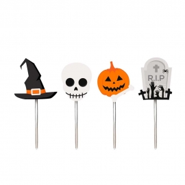 PICK DECORATIVO HALLOWEEN RIP C/12
