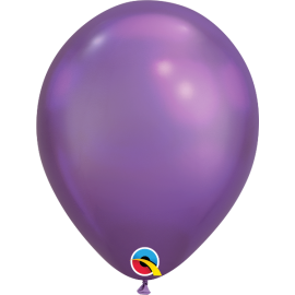11 ROUND CHROME ROXO QUALATEX C/1