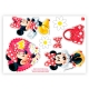 KIT DEC COM APLIQUES RED MINNIE C/1