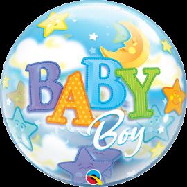 BALAO 22 BUBBLE SIMPLES BABY BOY C/1