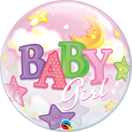 BALAO 22 BUBBLE SIMPLES BABY GIRL C/1