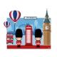 KIT DEC COM APLIQUES LONDRES C/1