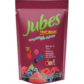 JUBES FRUIT SNACKS BERRY SOUR 100GR