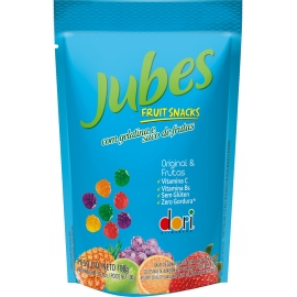 JUBES FRUIT SNACKS ORIGINAL FRUTAS 100G