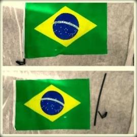 BANDEIRA PARA CARRO BRASIL C/01