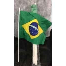 BANDEIRA DE MAO BRASIL C/12
