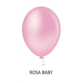 BALAO 08 LISO REDON ROSA BABY C/50