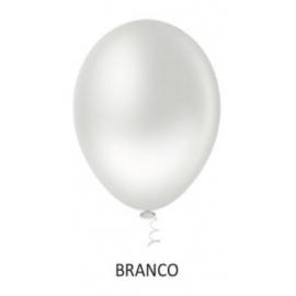 BALAO 08 LISO REDON BRANCO C/50