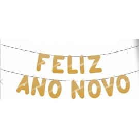 VARALZINHO FELIZ ANO NOVO OURO FOSC C/1