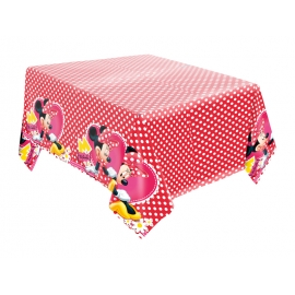 TOALHA 120x220cm RED MINNIE C/1