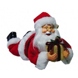 PAPAI NOEL WINDOW HANG 30CM