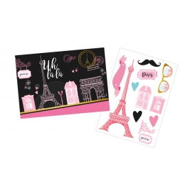 KIT DEC COM APLIQUES PARIS C/1