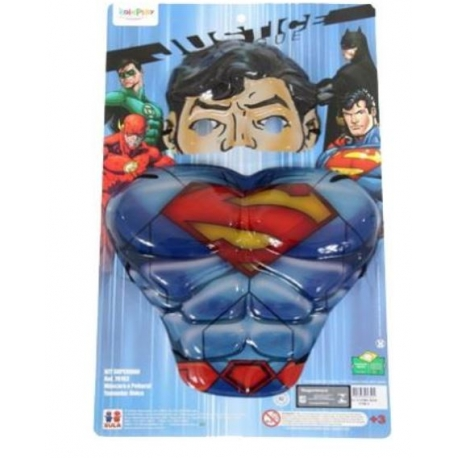 KIT PEITORAL SUPERMAN MASCARA C/1