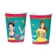 COPO PAPEL 180ml PRINCESAS AMIGAS C/8