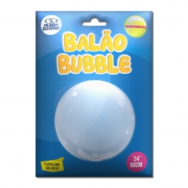 BALAO BUBBLE - TRANSPARENTE 24 C/1