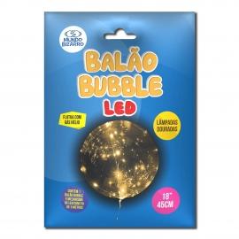 BALAO BUBBLE - COM LED DOURADO 18 C/1