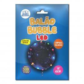 BALAO BUBBLE - COM LED COLORIDO 18 C/1