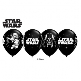 BALAO 11 PRETO ONIX PC25 STAR WARS C/ 1