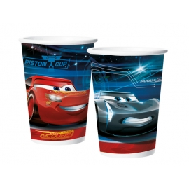COPO PAPEL 180ml CARS 3 C/8