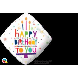 BALAO 18 DIAMANTE HAPPY BIRTHDAY TO C/1