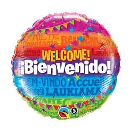 BALAO 18 REDONDO WELCOME! BIENVENIDO C/1