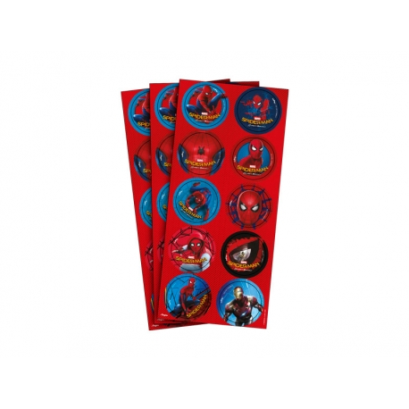 ADESIVO RED SPIDER MAN 03 CARTELAS