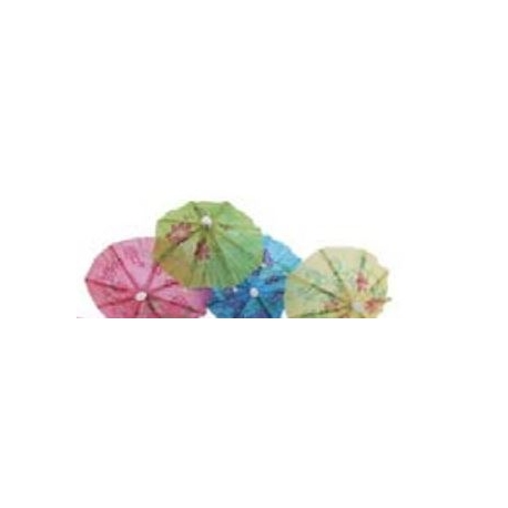 ENFEITE DECO TOPPER GUARDA CHUVA C/10
