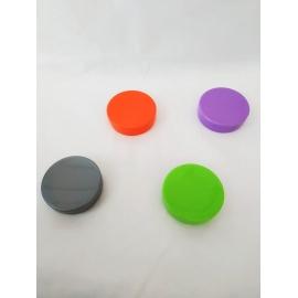 LATINHA PP 5X1CM PLAST DOURADA C/1