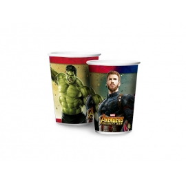 COPO PAPEL 180ml AVENGERS 3 C/8