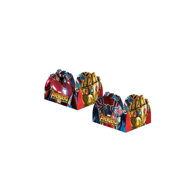 PORTA FORM 9.5x9.5cm AVENGERS 3 C/50