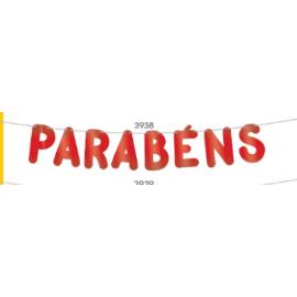 VARALZINHO PARABENS VERMELHO