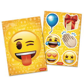 KIT DECORATIVO EMOJI C/1