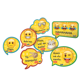 KIT PLACAS EMOJI C/9