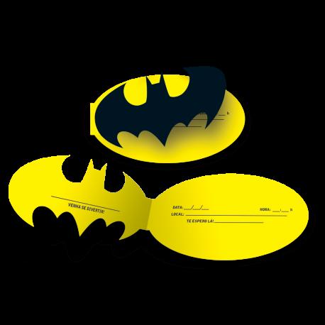 CONVITE BATMAN GEEK C/8